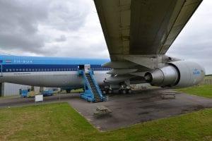 boeing 747 vliegtuig aviodrome lelystad airport