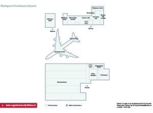 Plattegrond Aviodrome Zakelijk